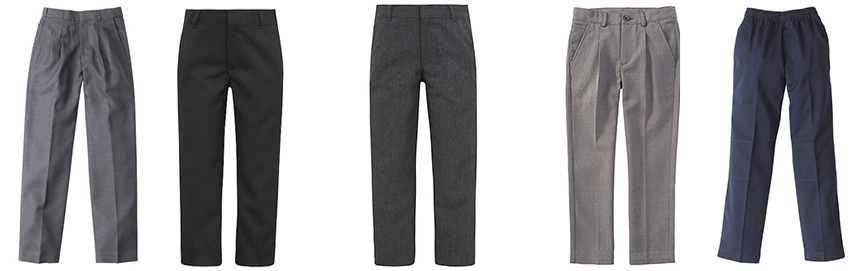 Boy Pants- School Uniform - front garments