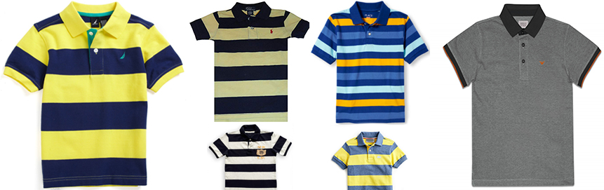 Boy Polo - front garments