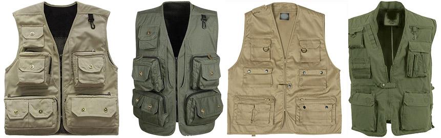 Multi Pocket Vest - front garments