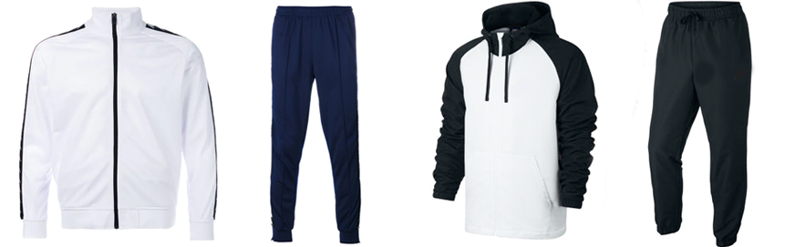 Track Suit - front garments
